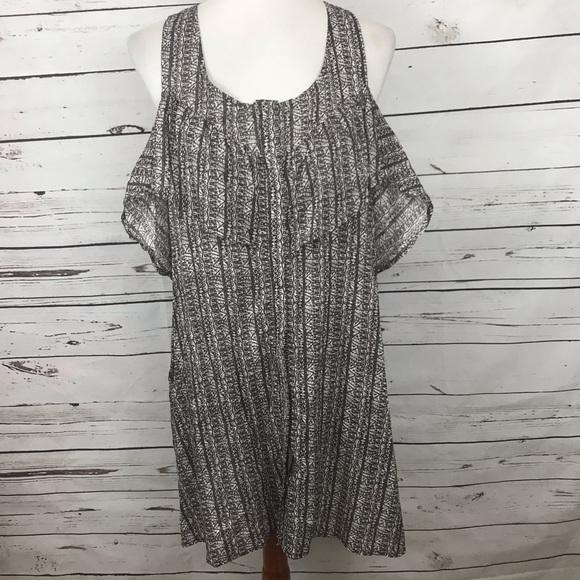 RVCA Dresses & Skirts - RVCA Cold Shoulder Dress Size Medium/Large